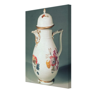 Meissen coffee pot, c.1740-50 canvas print