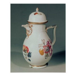 Meissen coffee pot, c.1740-50 poster