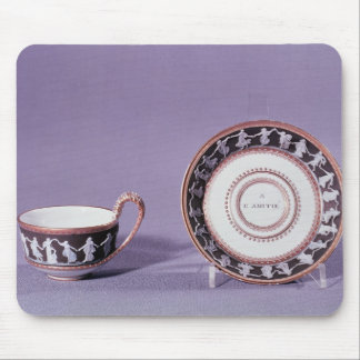 Meissen cup and saucer, late 18th century mouse mat
