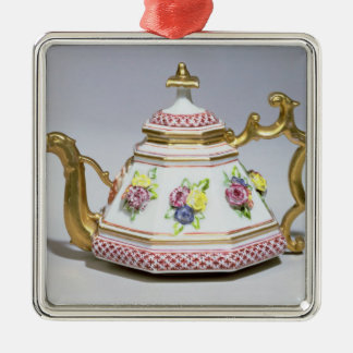 Meissen octagonal teapot, c.1718 christmas ornament
