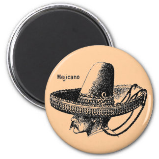 Mejicano-Mexicano 6 Cm Round Magnet