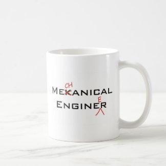 Mekanical Enginer Basic White Mug