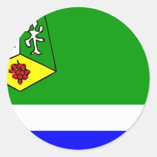 Meknes Morocco Round Sticker