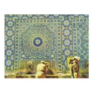 Meknes, Muslim washing place Postcard