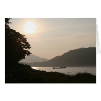Mekong Dreaming Stationery Note Card