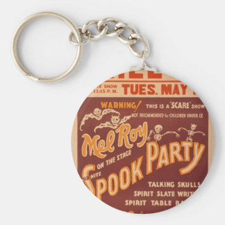 Mel Roy, 'Spook Party' Vintage Theater Keychain