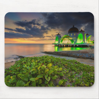 Melaka During Sunset | Masjid Selat Mouse Mat