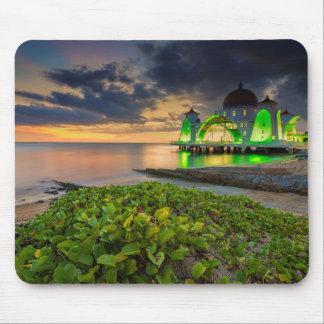 Melaka During Sunset | Masjid Selat Mouse Pad