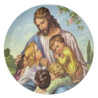 melamine plate JESUS