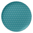 Melamine Plate With Triangle Pattern