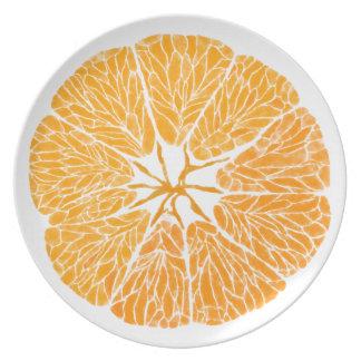 Melamine Plates - Orange you glad . . .