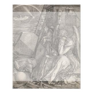 Melancholia I by Albrecht Durer Flyer Design