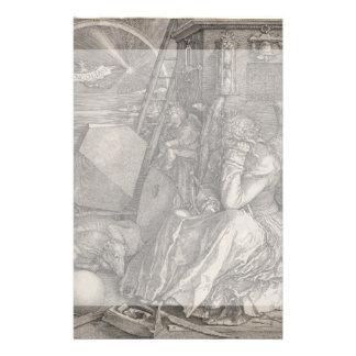 Melancholia I Engraving by Albrecht Durer Personalized Flyer