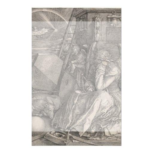 Melancholia I, Engraving by Albrecht Durer Personalized Flyer