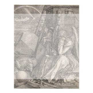 Melancholia I Engraving by Albrecht Durer Flyer Design