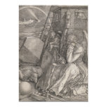 Melancholia I, Engraving by Albrecht Durer Custom Invitation