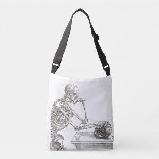 Melancholic Skeleton Cross Body Bag