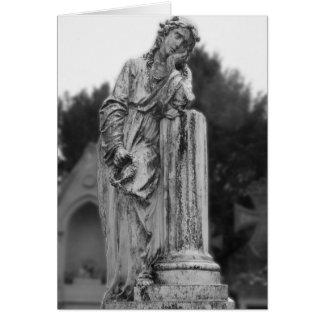 Melancholy Angel Card