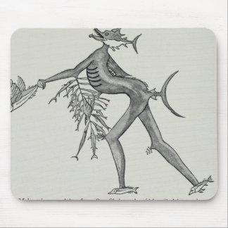 Melanesian sea deity from The History of Mouse Pad