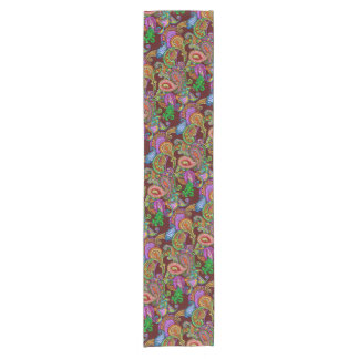 Melange Paisley Table Runner