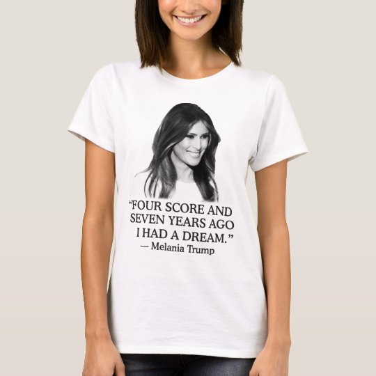 Melania Trump Four Score Women's Basic T-Shirt