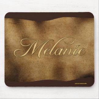 MELANIE Personalised Parchment-effect Mousemat