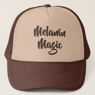 Melanin Magic  Trucker Hat