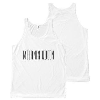 Melanin Queen All-Over Print Tank Top