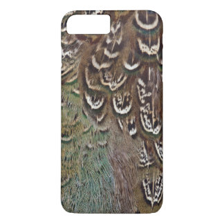 Melanistic Pheasant Feather Detail iPhone 8 Plus/7 Plus Case