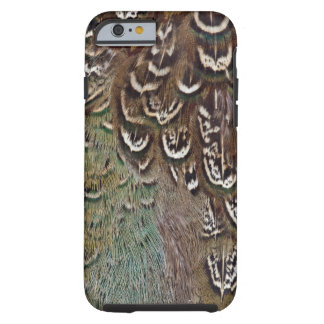 Melanistic Pheasant Feather Detail Tough iPhone 6 Case