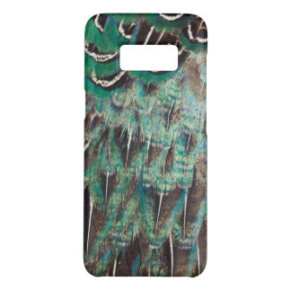 Melanistic Pheasant Feathers Close-Up Case-Mate Samsung Galaxy S8 Case