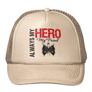 Melanoma Always My Hero My Friend Trucker Hat