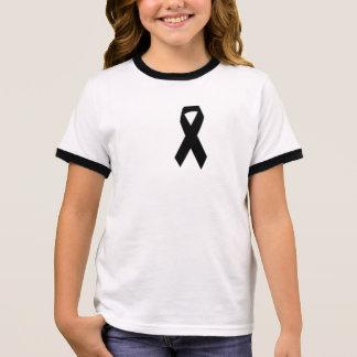 Melanoma Awareness Ringer T-Shirt