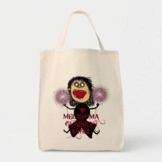Melanoma Cancer Guardian Angel Tote Bag