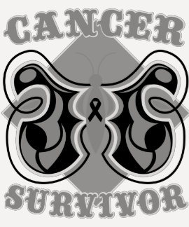 Melanoma Cancer Survivor Butterfly Tshirts