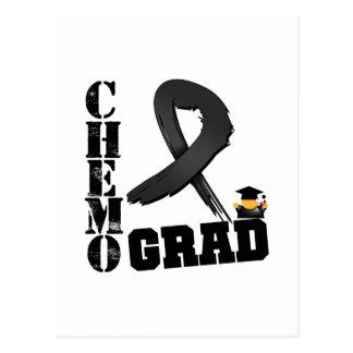 Melanoma Chemo Grad Postcard