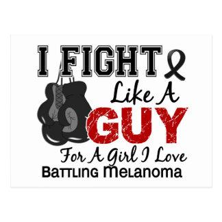 Melanoma Fight Like A Guy 15 Post Cards