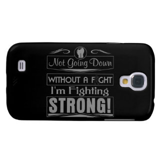 Melanoma I Am Fighting Strong Galaxy S4 Case
