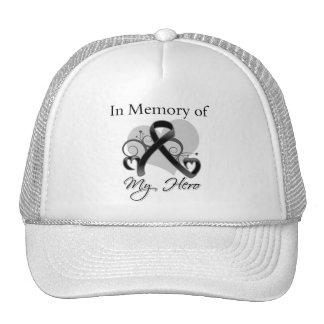 Melanoma In Memory of My Hero Mesh Hats