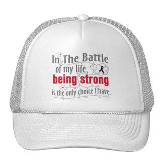 Melanoma In The Battle Mesh Hats
