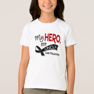 Melanoma MY HERO MY UNCLE 42 T-Shirt