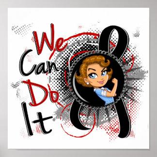Melanoma Rosie Cartoon WCDI png Print