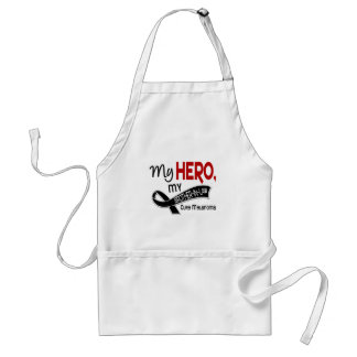 Melanoma Skin Cancer MY HERO MY BROTHER-IN-LAW 42 Adult Apron