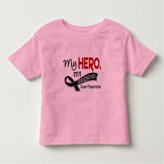 Melanoma Skin Cancer MY HERO MY GRANDFATHER 42 Toddler T-Shirt