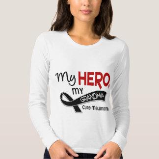 Melanoma Skin Cancer MY HERO MY GRANDMA 42 T-shirts