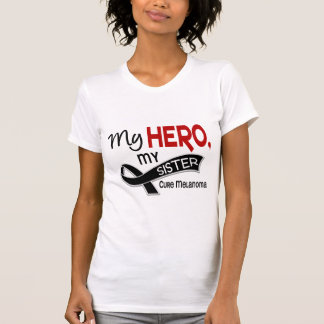 Melanoma Skin Cancer MY HERO MY SISTER 42 T-Shirt