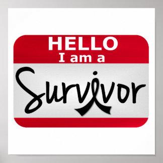 Melanoma Survivor 24.png Poster