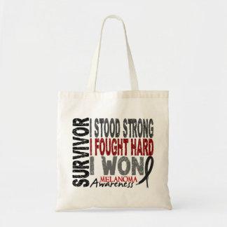 Melanoma Survivor 4 Tote Bag