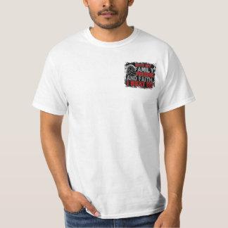 Melanoma Survivor Family Friends Faith Tshirts