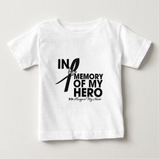 Melanoma Tribute In Memory of My Hero Baby T-Shirt